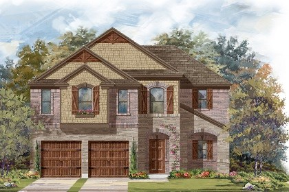 New Homes in Leander, TX - Plan A-2183 C