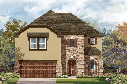 New Homes in Leander, TX - Plan A-2183 D