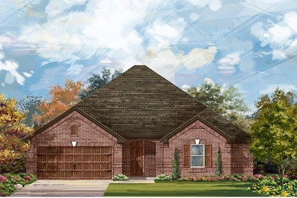New Homes in Leander, TX - Plan L-2325 A