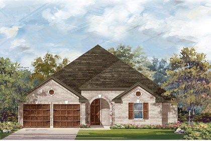 New Homes in Leander, TX - Plan L-2325 B