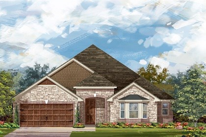 New Homes in Leander, TX - Plan L-2325 C