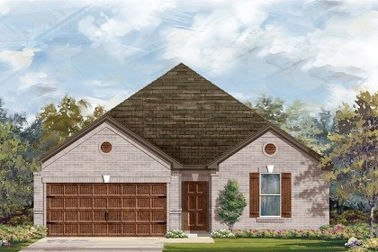 New Homes in Leander, TX - Plan A-2382 B