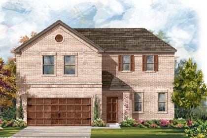 New Homes in Leander, TX - Plan A-2502 A