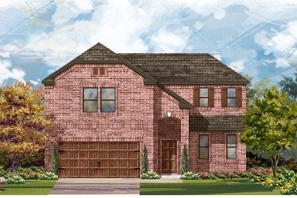 New Homes in Leander, TX - Plan A-2502 B