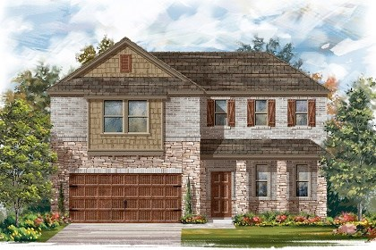 New Homes in Leander, TX - Plan A-2502 C