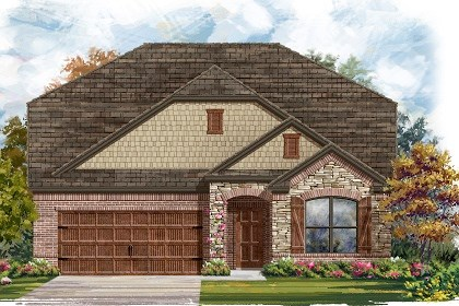 New Homes in Leander, TX - Plan A-2655 Elevation C