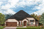 New Homes in Leander, TX - Plan L-2663 MODELED