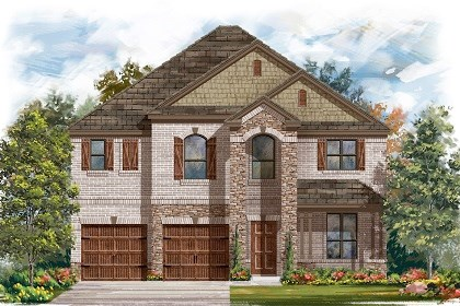 New Homes in Leander, TX - Plan A-2755 Elevation C
