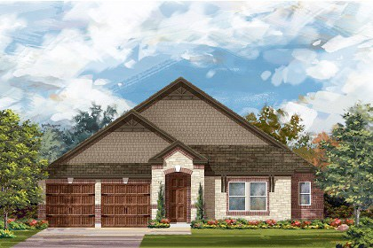 New Homes in Leander, TX - Plan L-2858 C