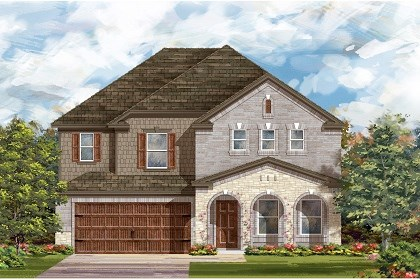 New Homes in Leander, TX - Plan A-2881 C