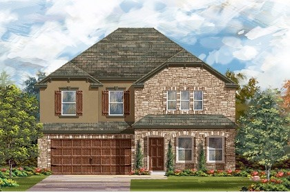 New Homes in Leander, TX - Plan A-2881 D