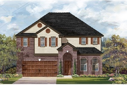 New Homes in Leander, TX - Plan A-3023 A
