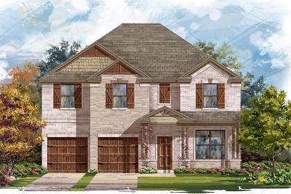 New Homes in Leander, TX - Plan A-3125 C