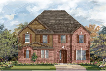 New Homes in Leander, TX - Plan L-3221 B