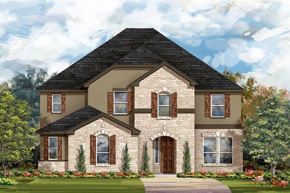 New Homes in Leander, TX - Plan L-3221 D