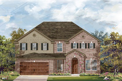 New Homes in Leander, TX - Plan L-3471 A