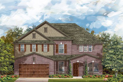 New Homes in Leander, TX - Plan L-3471 B