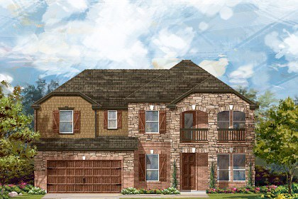 New Homes in Leander, TX - Plan L-3471 C