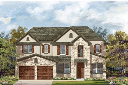 New Homes in Leander, TX - Plan L-3471 D