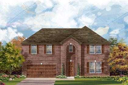 New Homes in Leander, TX - The L-3959 A