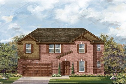 New Homes in Leander, TX - The L-3959 B