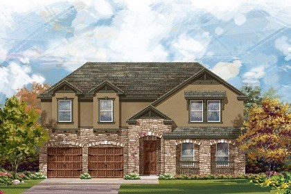 New Homes in Leander, TX - The L-3959 D