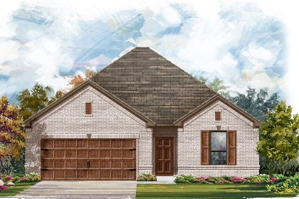 New Homes in Leander, TX - Plan A-1675 A