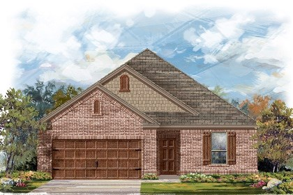 New Homes in Leander, TX - Plan A-1675 B