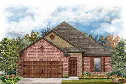 New Homes in Leander, TX - Plan A-1675 C