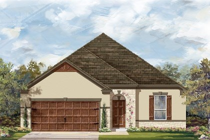 New Homes in Leander, TX - Plan A-1675 D