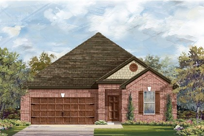 New Homes in Leander, TX - Plan A-1852 B