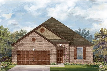 New Homes in Leander, TX - Plan A-1965 B