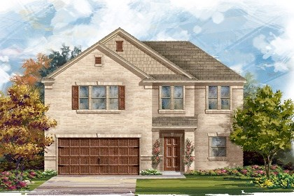 New Homes in Leander, TX - Plan A-2183 A