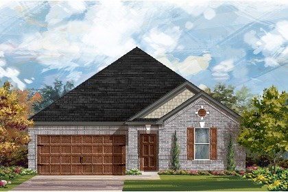 New Homes in Leander, TX - Plan A-2382 A