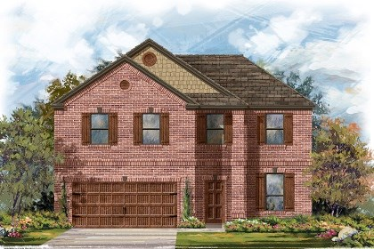 New Homes in Leander, TX - Plan A-2469 B