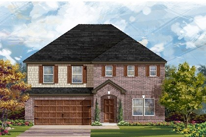 New Homes in Leander, TX - Plan A-2881 A