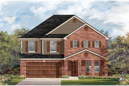 New Homes in Leander, TX - Plan A-2881 B