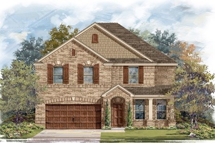 New Homes in Leander, TX - Plan A-3125 B