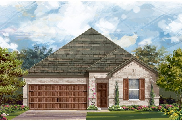 New Homes in Leander, TX - Plan A-1491 A