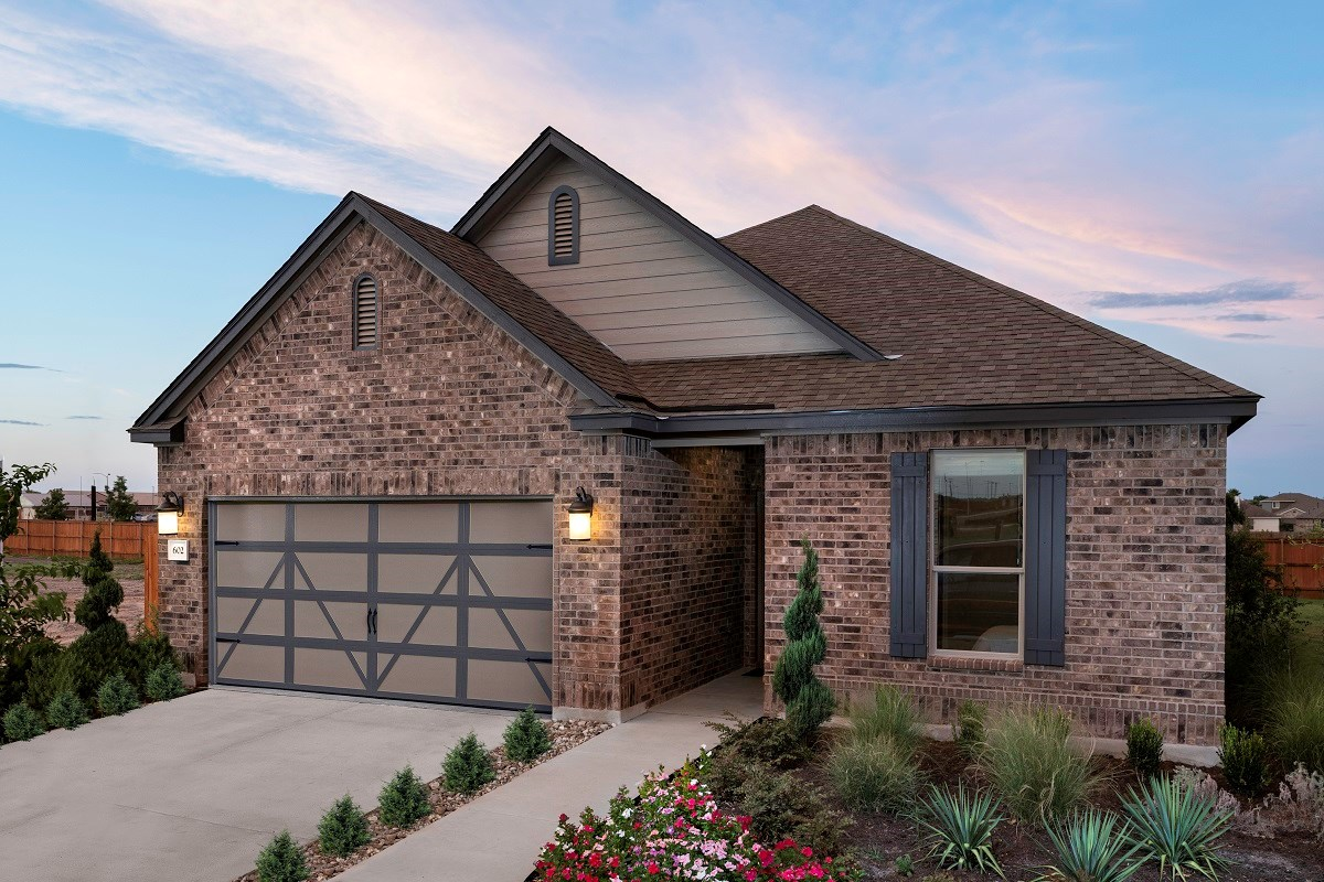 New Homes in Lockhart, TX - Meadows at Clearfork Plan A-1675