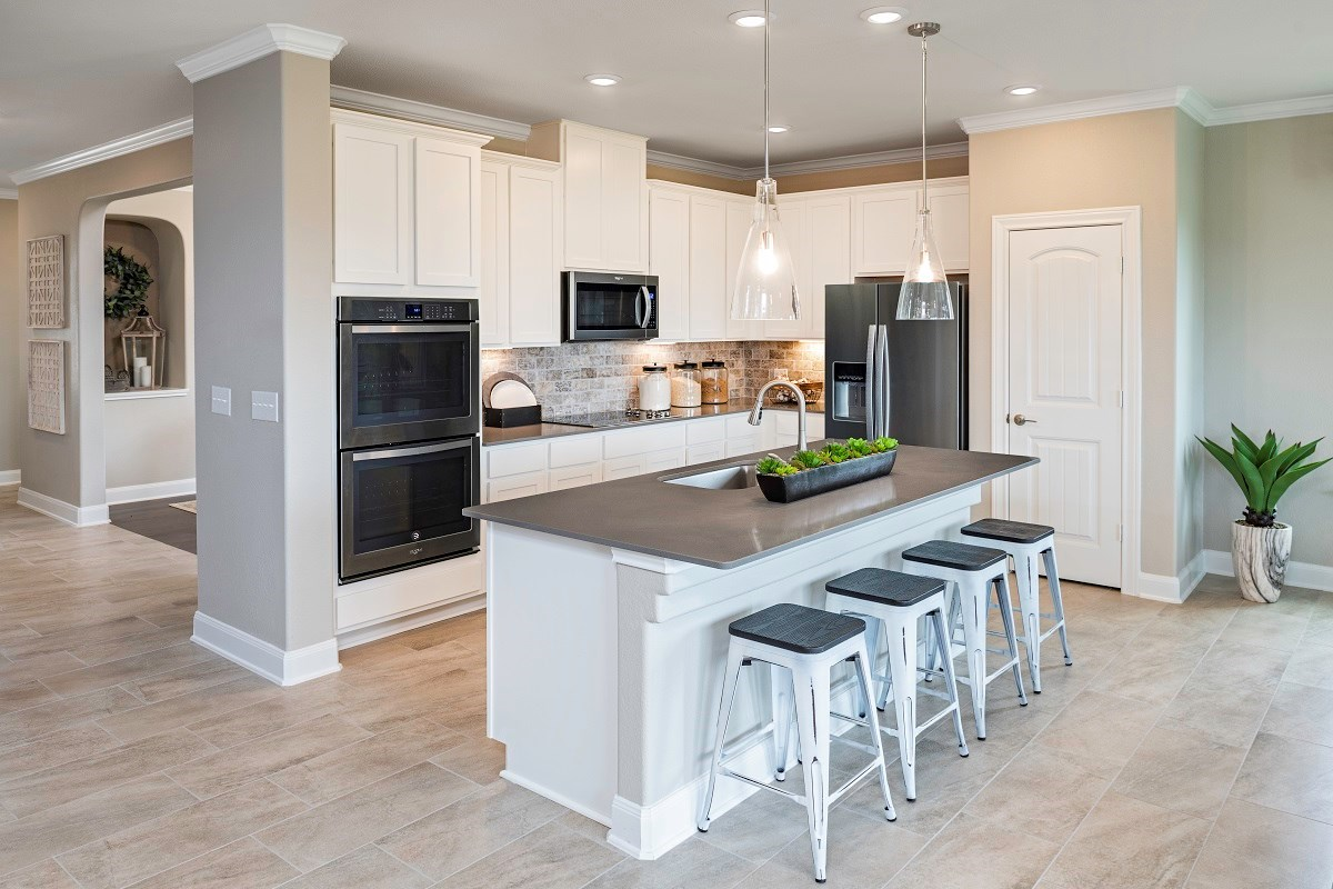New Homes in Lockhart, TX - Meadows at Clearfork Plan A-2502 Kitchen
