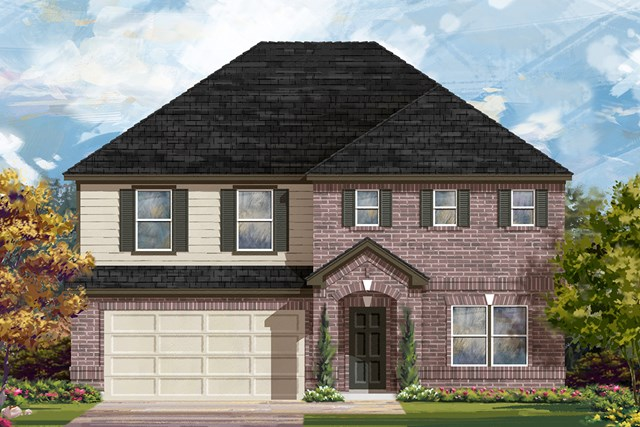 New Homes in Lockhart, TX - Plan A-2881 A