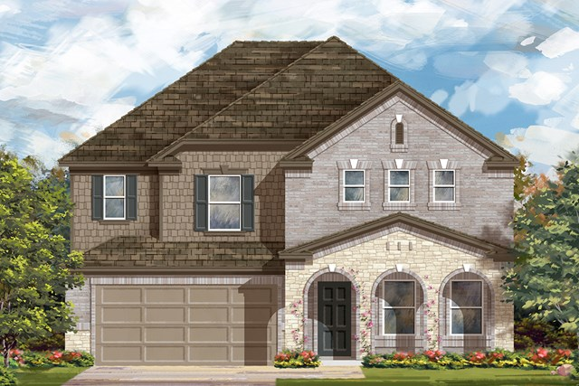 New Homes in Lockhart, TX - Plan A-2881 C
