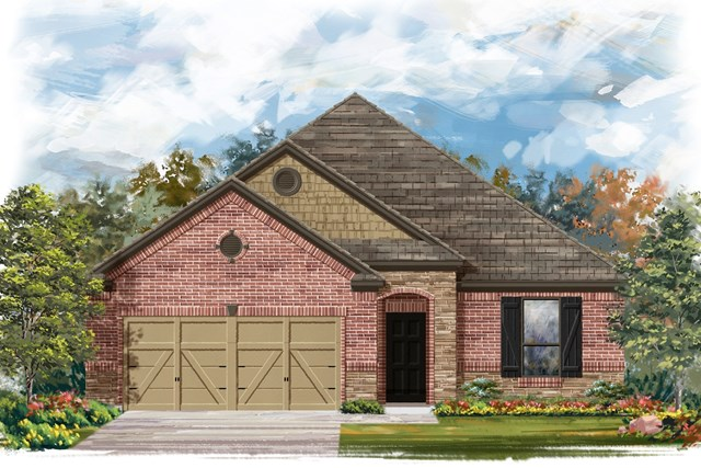 New Homes in Lockhart, TX - Plan A-1675 C