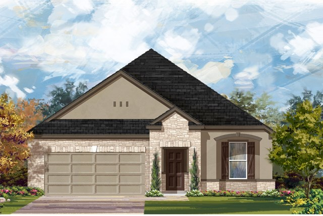 New Homes in Lockhart, TX - Plan A-1965 D