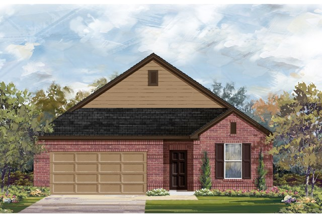 New Homes in Lockhart, TX - Plan A-1996 A