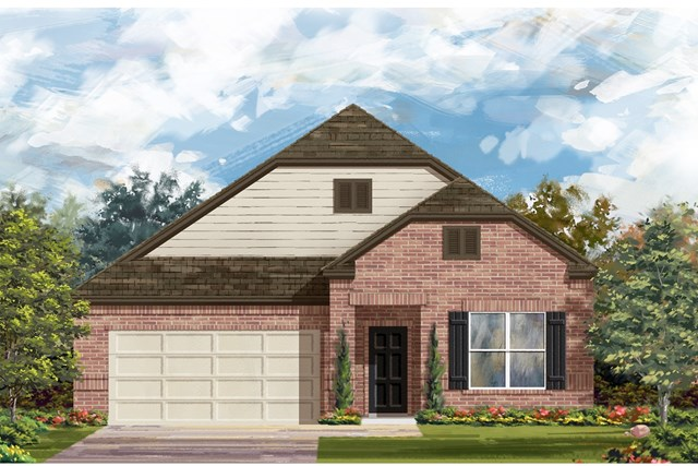 New Homes in Kyle, TX - Plan 1996 B