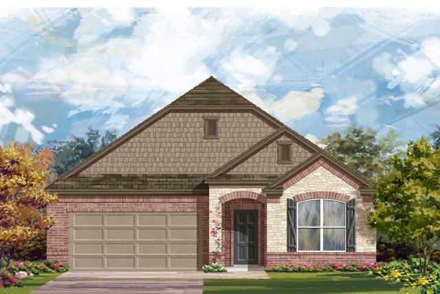 New Homes in Kyle, TX - Plan 1996 C