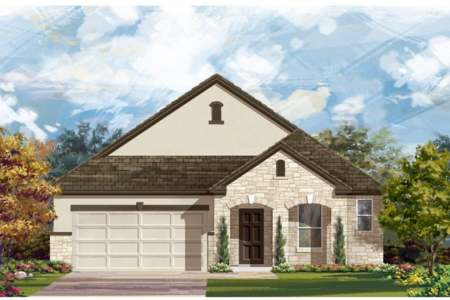 New Homes in Kyle, TX - Plan 1996 D
