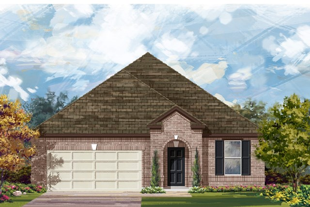 New Homes in Lockhart, TX - Plan A-2089 A
